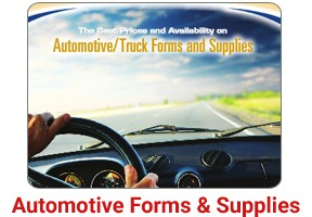 AUTOMOTIVE FORMS and SUPPLIES - ALL IN STOCK