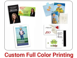 FOR ALL YOUR PRINTING  IN FULL COLOR PROCESS