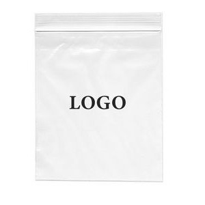 "Zip-lock Printed Bags 2 Mil. (Ink Imprinted) 10"" x 12"""