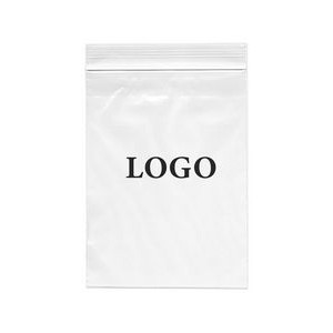 "Ziplock Printed Bags 4 Mil. (Ink Imprinted) 10"" x 13"""