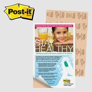 "Post-it® Custom Printed Poster Paper (11""x17"")"