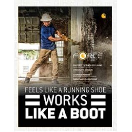 "Carhartt® Easel Back Table Talk Graphic (""Works Like A Boot"")"