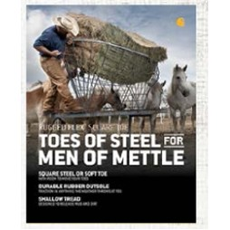 "Carhartt® Easel Back Table Talk Graphic (""Toes Of Steel For Men Of Mettle"")"