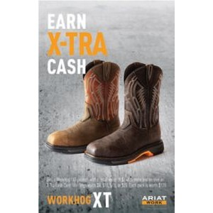 "Ariat® WorkHog® XT Spiff Poster Kit (16""x 24"")"