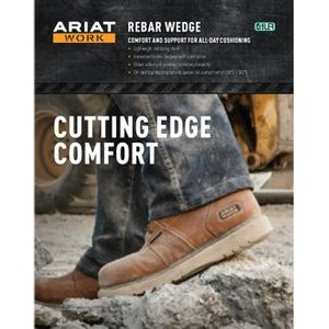 Ariat® Rebar™ Wedge Poster Kit